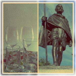 Gandhi Jayanti sin alcohol